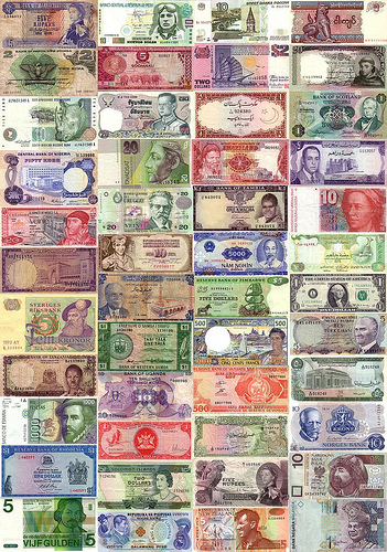 World Currencies  Letters
