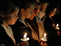 Amish mourn and pray after students are massacred