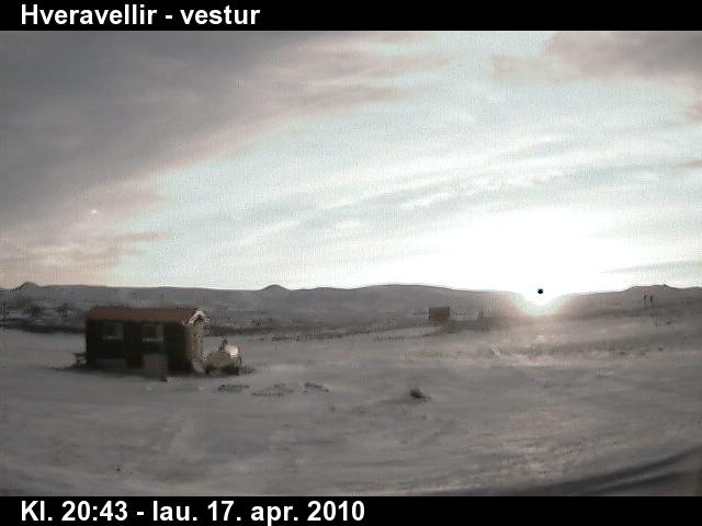 iceland volcano eruption 2010 facts. UFO Caught on Iceland Webcam