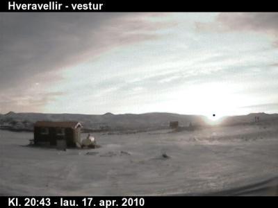 UFO Caught on Iceland Webcam